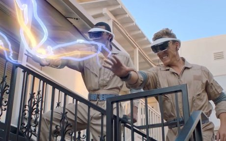 "BRAND HIGHLIGHT // Sony's ""Ghostbuster"" Experience In Japan Includes AR Headset Prototype"