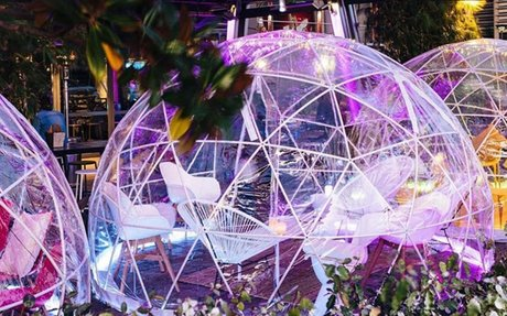 Dial Up Your Social Distancing Dining With A Night In These Magical Winter Igloos