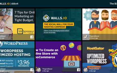 The Social Wall for Everyone – Walls.io
