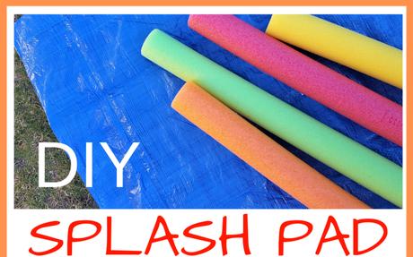 Easy to make DIY Splash Pad