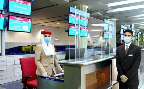 Emirates implements full safety measures at Dubai International as flights resume – Bus...