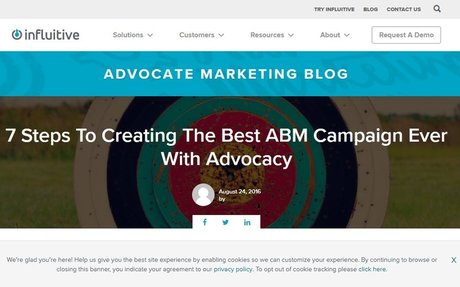 7 Steps To Creating The Best ABM Campaign Ever With Advocacy #ABM