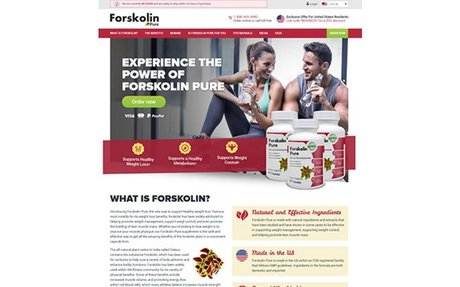 Forskolin Pure Official Site - Natural Weight Loss Supplement