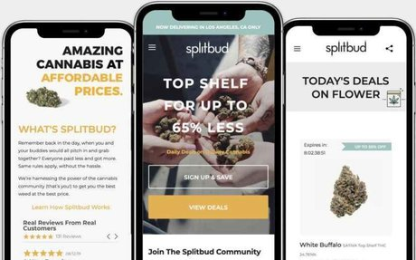Cannabis tech startup Splitbud launches a new ordering platform to make cannabis more a...