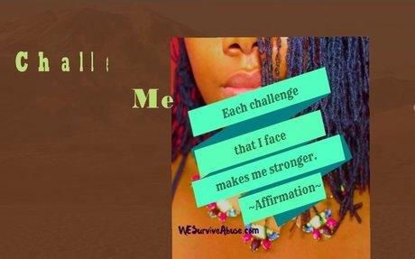 Survivor Affirmations: Just As I Am - WE SURVIVE ABUSE