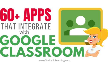 60+ Awesome Apps that Integrate with Google Classroom!