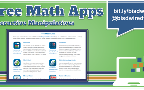 Tech Tip Tuesday: Digital Math Manipulatives.... #TCEA #TCEA20 #TCEA2020  ENJOY!