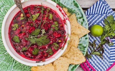 Red Raspberry Salsa