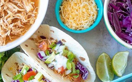 Instant Pot Chicken Tacos Recipe | Yummly