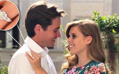 Shane Co. says Princess Beatrice's New Engagement Ring Could Cost Up to $50,000