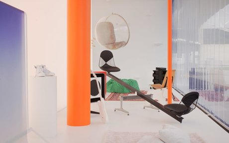 DESIGN // Virgil Abloh Hacks The Vitra Archive To Create Vision Of A Home In 2035