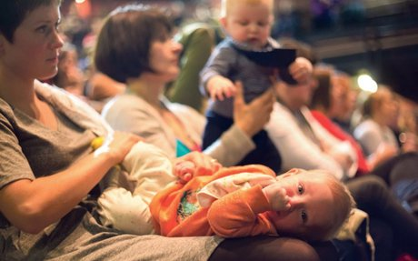 How Parents in Performing Arts is giving theatre a creche course in caring