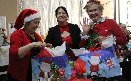 """Christmas Angels"" at CPLC Casa de Primavera"