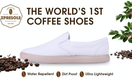 The World's First Coffee Shoes