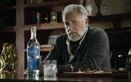 Interesting man Jonathan Goldsmith brings back his accent for Astral Tequila