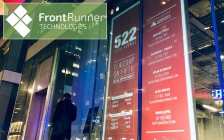 FrontRunner Technology Lights Up Vacant Storefronts in Canada With New Digital Out-Of-Home Media