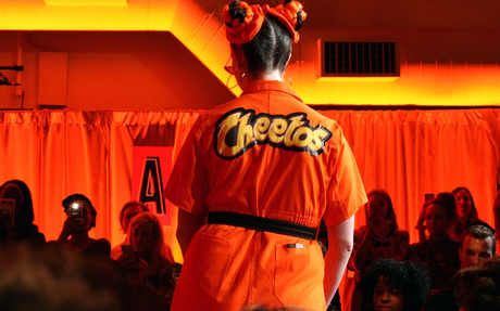BRAND HIGHLIGHT // Inside the Dazzling, Incredibly Orange Cheetos Fashion Show