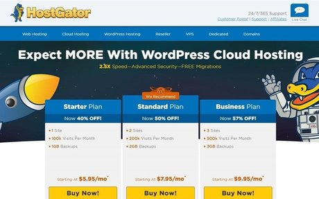 Find HostGator's best deals on web hosting, domains, email and more. by The Great Busin...