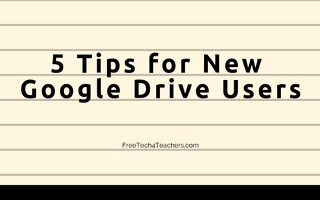 5 Google Drive Tips for New Users