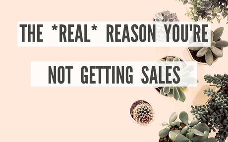 The REAL Reason You're Not Making Sales on Etsy