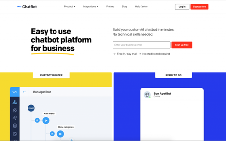 Automate your customer service with ChatBot and never miss a chance to sell - Be your o...