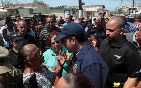 Puerto Rico Gov.: We Need More Help After Hurricane Devastation