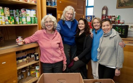 Island Food Pantry Volunteers Are Dedicated to Those in Need