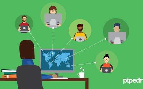 How To Manage A Remote Sales Team #RemoteSales