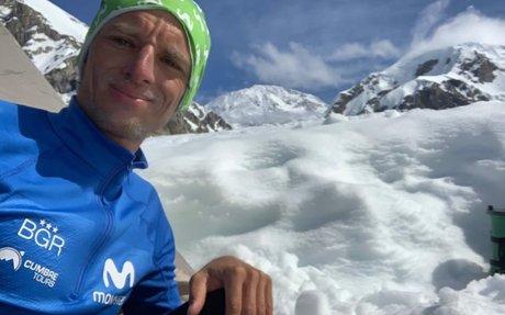 Montañista ecuatoriano Karl Egloff. - Radio HCJB