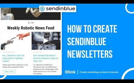 How to Create a SendinBlue Email Newsletter in Minutes