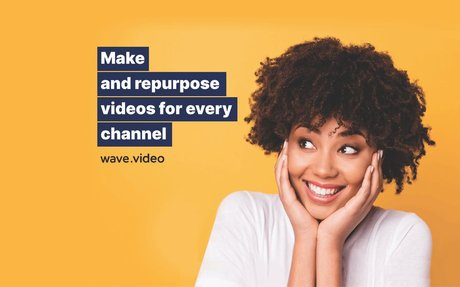 Video Making Platform Make your own videos and host them with Wave.video.