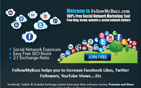 With FollowMyBuzz.com you can get free Facebook likes,Twitter followers,YouTube Likes,Y...