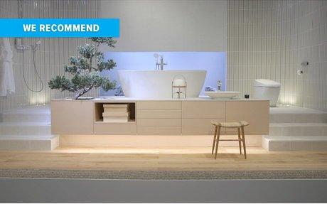 DESIGN // INAX exhibition at Milan design week explores Japanese water rituals