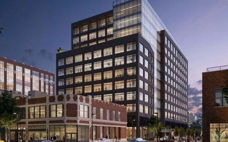 Fulton Market office tower packed with green tech breaks ground