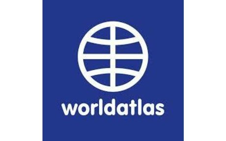 World Atlas / World Map / Atlas of the World Including Geography Facts and Flags - Worl...