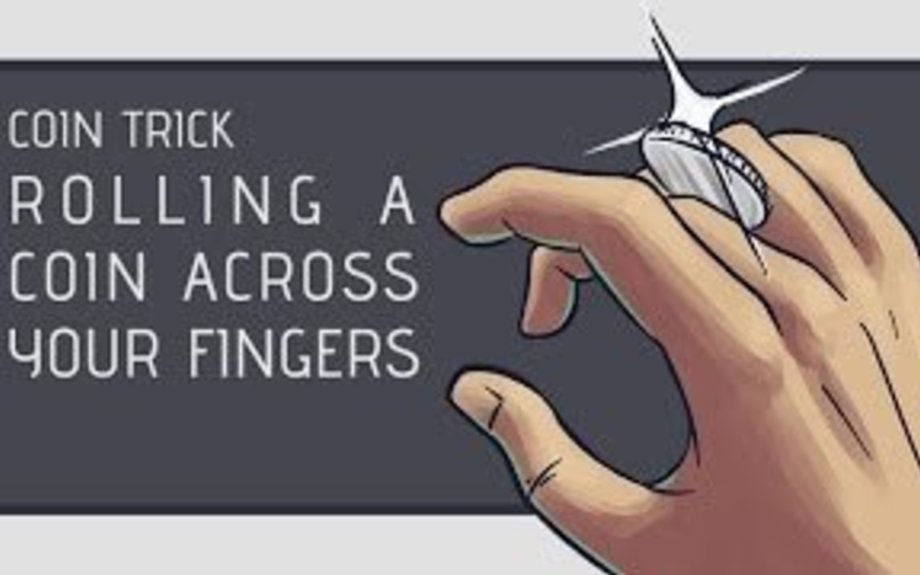 Coin Trick: How to Roll a Coin Across Your Knuckles [HD]