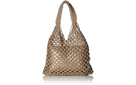 Sam Edelman Summer Hobo in Rose Gold
