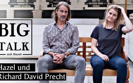 """Hazel und Richard David Precht über """"Wer wird Millionär?"""", Corona-Leugner und Künstliche Intelligenz"""