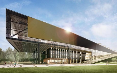Nike names new building after LeBron James, featuring full NBA-size basketball court an...
