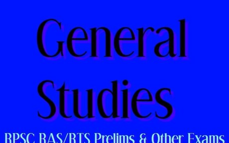 RPSC RAS/RTS Prelims Exam Rajasthan GK Complete Study Material in English - Study Portal