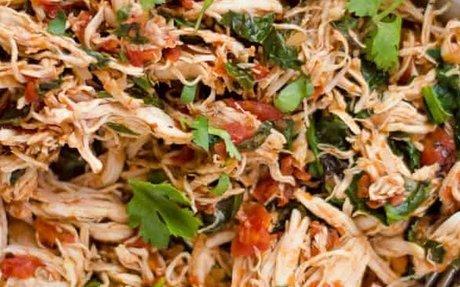 Instant Pot Salsa Chicken Recipe | Yummly