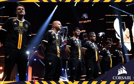Team Vitality enters multi-year partnership with CORSAIR