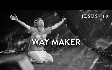 Way Maker   Steffany Gretzinger   John Wilds   Jesus Image Choir   Jesus '19