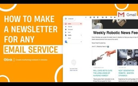 How to Create an Email Newsletter in Minutes