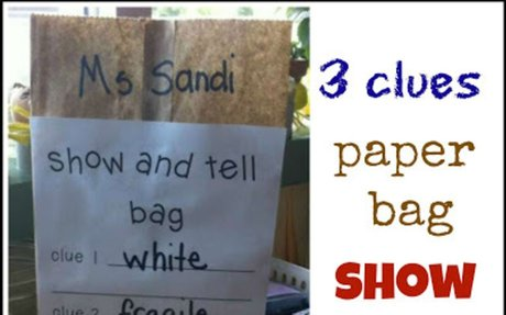 Show and Tell Mystery Bag