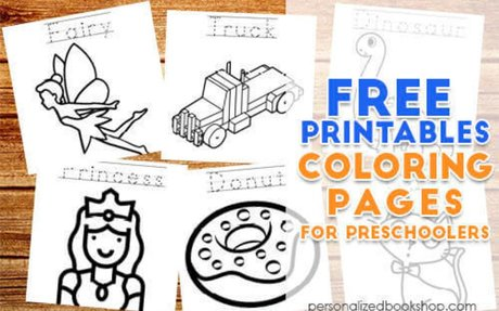 Even More FREE Preschool Coloring Printables