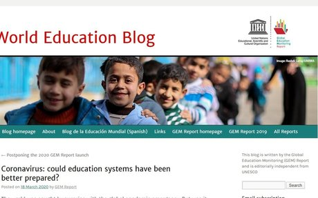 Coronavirus: could education systems have been better prepared?