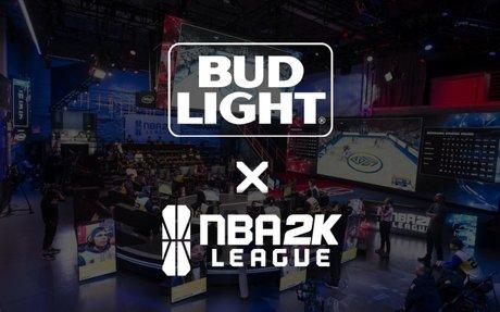 Bud Light branded official beer partner of NBA 2K League