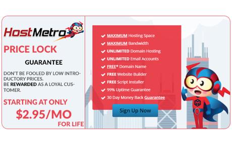 Fixed Rate Website Hosting | HostMetro