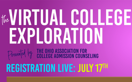 Register for a free Virtual College Exploration Event
